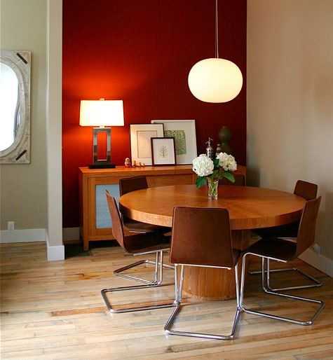 Dining Room Accent Wall: Sneak Peek Best Of: Dining Rooms (round Tables)