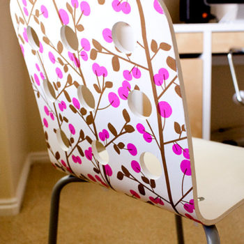 before & after: ashley's chair + mary's ikea hacks