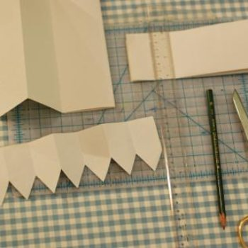 diy project: decorative and utilitarian shelf edging