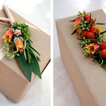 diy project: jaime's freshly picked floral accessories
