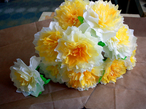 Diy project peaches coffee filter flowers designsponge click mightylinksfo
