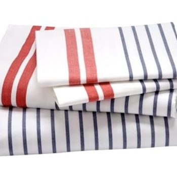 nautical striped sheets