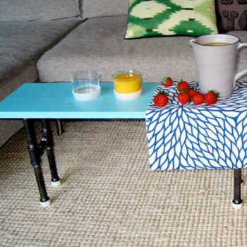 diy project: tae's cup holder coffee table