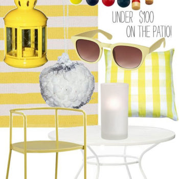 under $100: on the patio