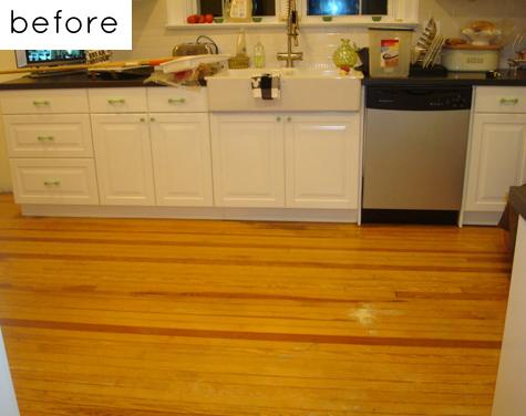 before & after: camila\'s kitchen floor + andrew\'s remodel – Design ...