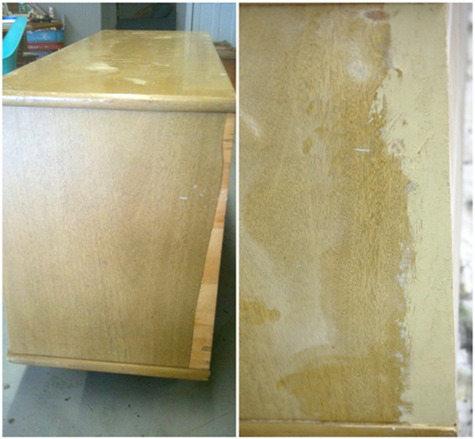 Before and after basics wood filler design sponge Wood filler for exterior wood patching