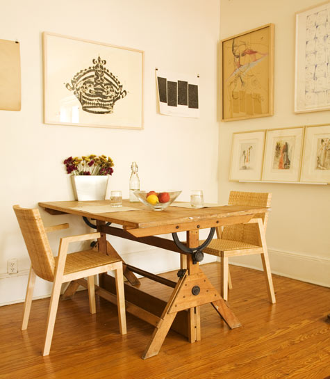 best of: dining rooms (square tables) – design*sponge Creative Dining Tables