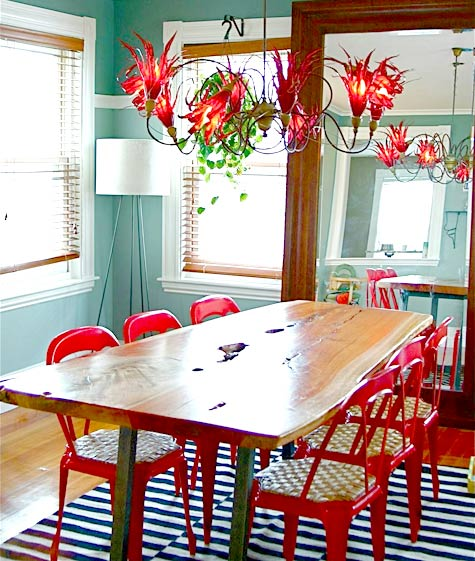 Merveilleux Image Above: Jeremy Mcelwainu0027s Colorful Dining Room.