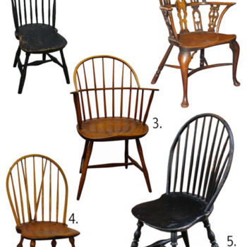 past & present: windsor chair history + resources