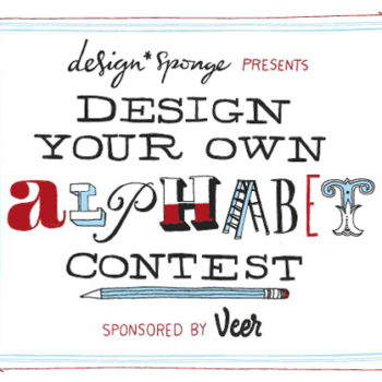 design your own alphabet contest: $500 prize!