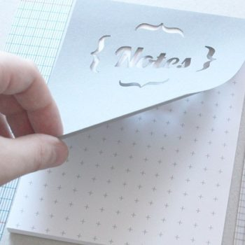 papercut notepads from mr. yen