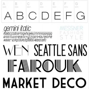 current obsession: my favorite fonts!