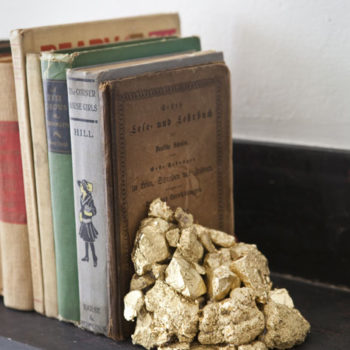 diy project: halligan's alchemy bookends