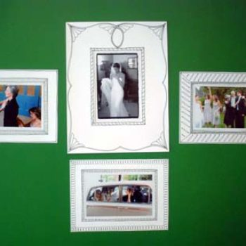 diy project: paper frames