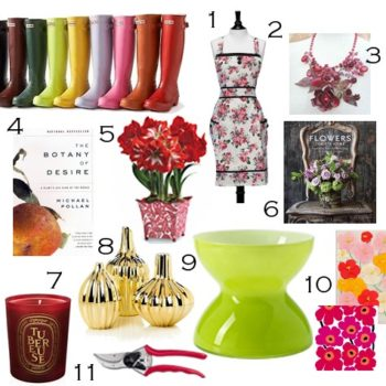 2010 gift guides: for flower lovers