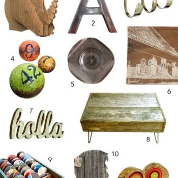 2010 gift guides: recycled goodness for the home
