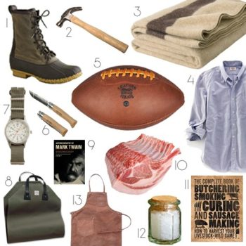 2010 gift guides: men's heritage