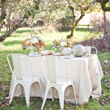thanksgiving centerpiece ideas: quince