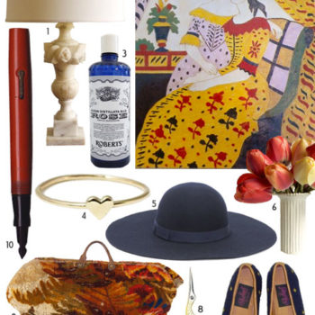 2010 gift guides: old fashioned feminine