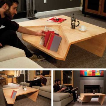 great student work: nook coffee table