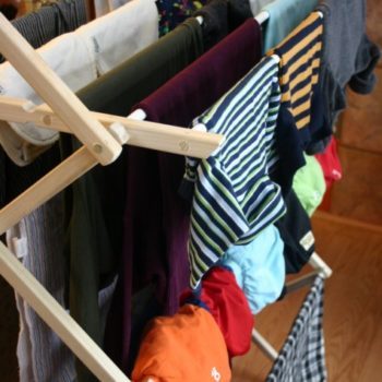 small measures with ashley: indoor drying racks