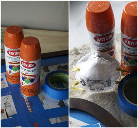 before and after basics: spray paint – Design*Sponge