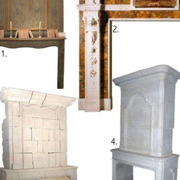 past & present: fireplace history