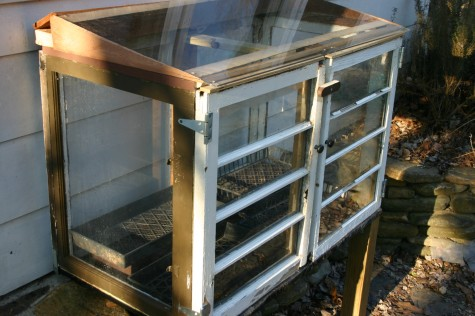 small measures with ashley: old window cold frame – Design*Sponge