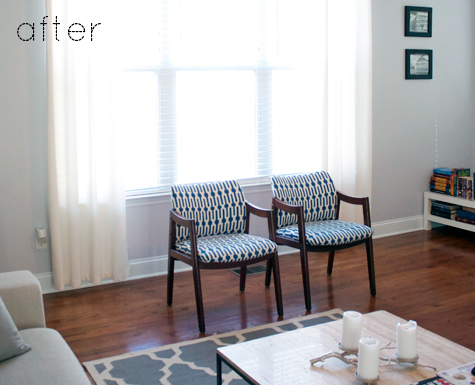 Before Amp After Janis Kristen S Chair Makeovers Design