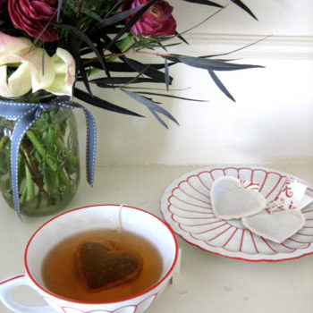 diy project: valentine's tea, three ways