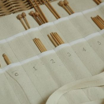 diy project: knitting needle case