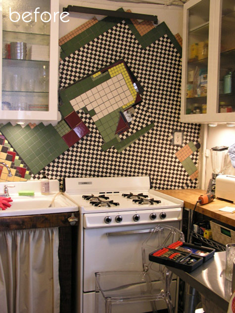 Before Amp After Pegboard Kitchen Makeover Studio Redo