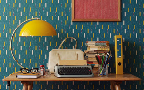 50s Wallpaper By Sanderson Designsponge