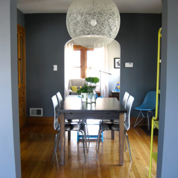 before & after: living room reno + a bright dining room