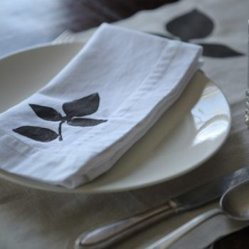 diy project: botanical stencils
