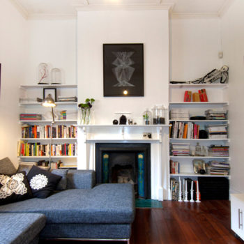 before & after: two living room and mantel makeovers
