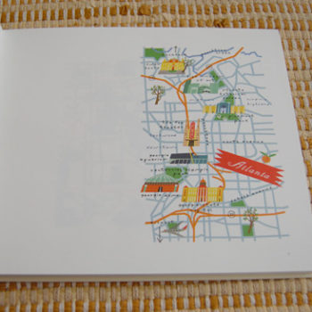 lena corwin illustrated map book + giveaway