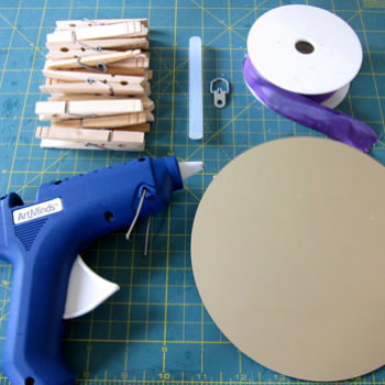 diy project: clothespin mirror
