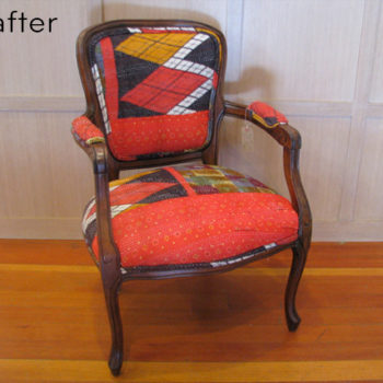 before & after: bright summery chair makeovers