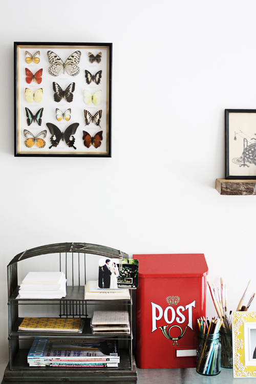 paper butterfly wall decor decor ideasdecor ideas.htm sneak peek caitlin of roost     design sponge  sneak peek caitlin of roost     design