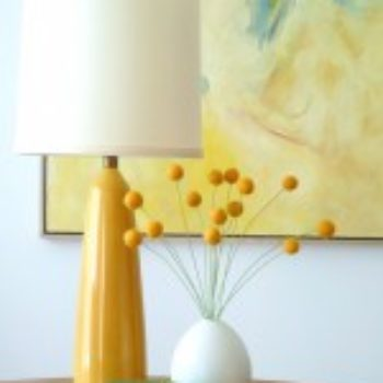 diy project: felt craspedia (a.k.a. billy buttons)
