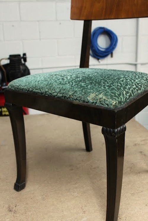 Instructions & upholstery basics: dining chair do-over u2013 Design*Sponge