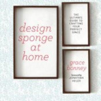 design*sponge at home: the evolution of a book cover