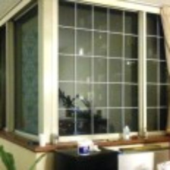 diy project: faux french windows