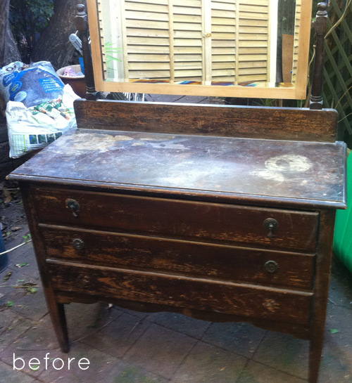 Painting Decorating Wirral Before After Resurfacing: Before & After: Dresser Refinishing + Sideboard Redo