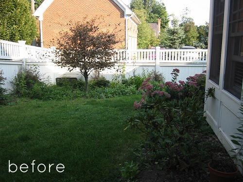 Before After Two Backyard Renovations DesignSponge Enchanting Garden Design Website Remodelling