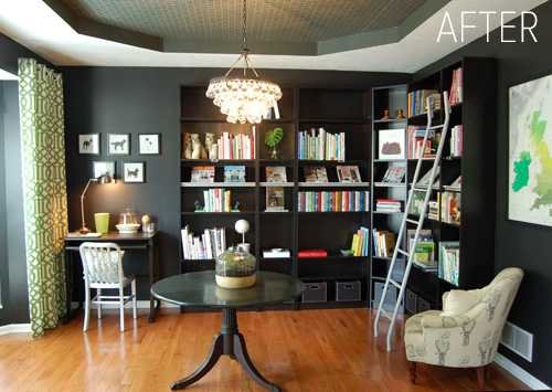 Read More About Jennifer S Dramatic Converted Library After The Jump