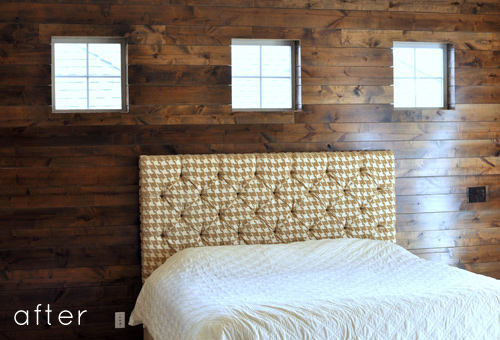 Read More About Lindsay And Drew S Gorgeous Wood Accent Wall After The Jump