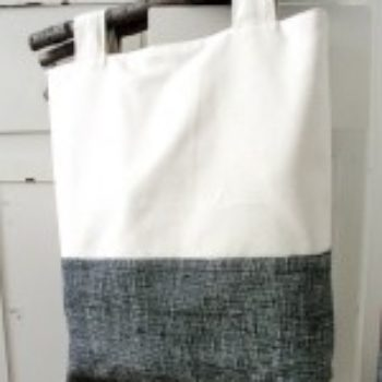 sewing 101: branch handle tote