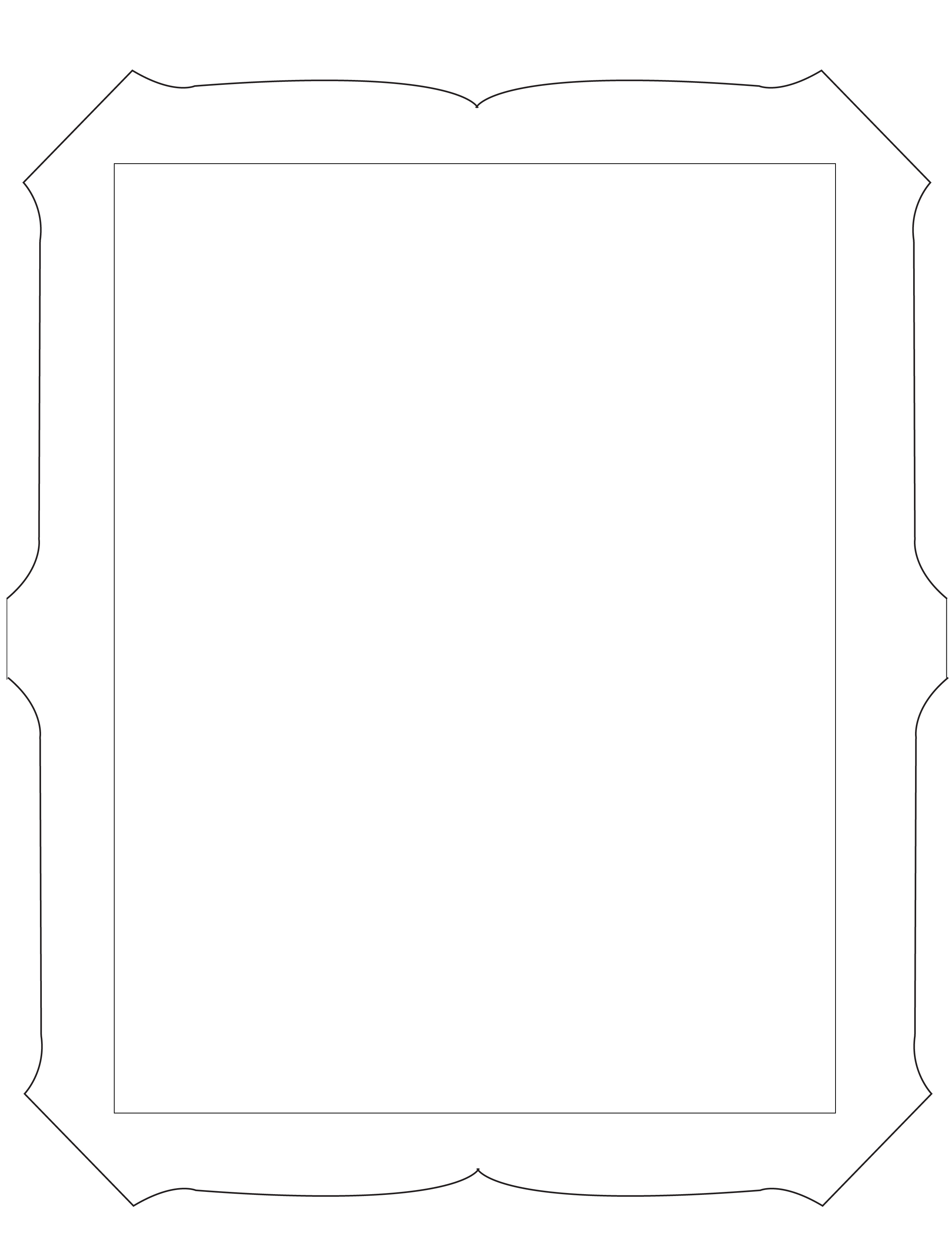 Template For Photo Frame. free psd template with various frames ...